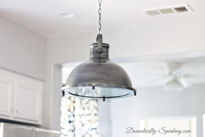 Nautical Pendant Kitchen Light