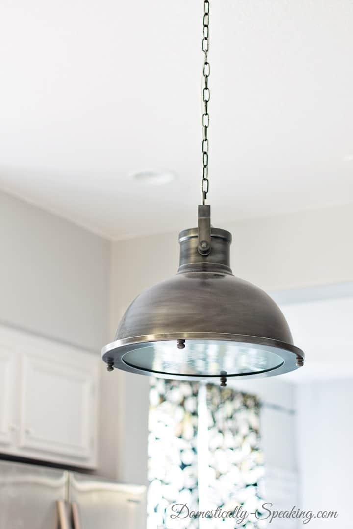Nautical Kitchen Pendant Light Over The Island