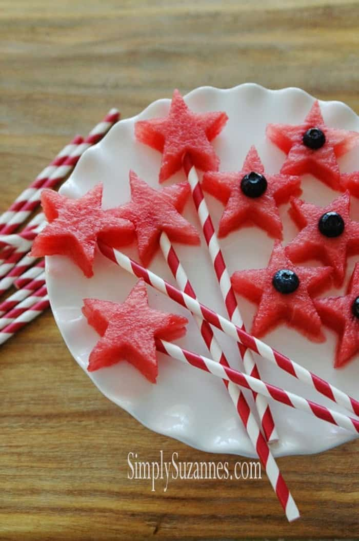 Watermelon Stars from Simply Suzannes