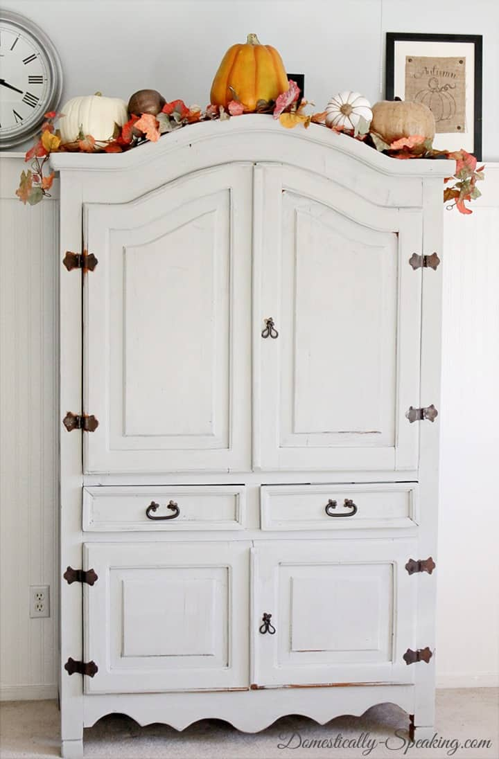 Free Armoire made over with paint