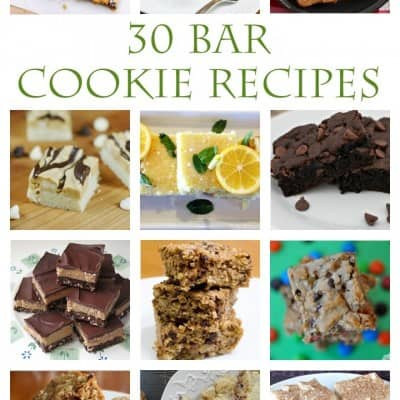 30+ Bar Cookie Recipes