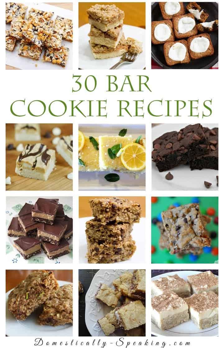 30+ Bar Cookie Recipes