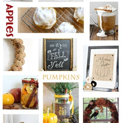 50 Fall Crafts, Recipes, Decor and More… All Things Fall!