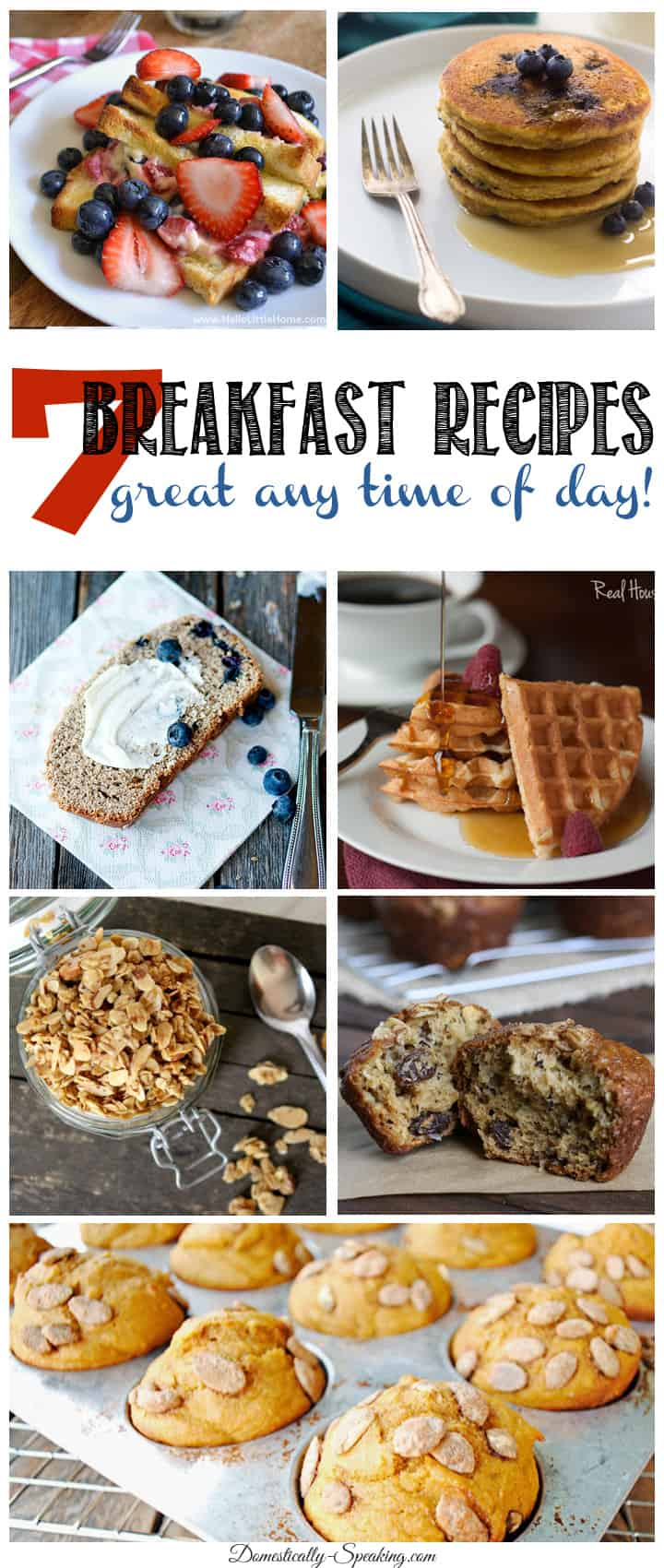 7 Delicious Breakfast Recipes… Friday Features!