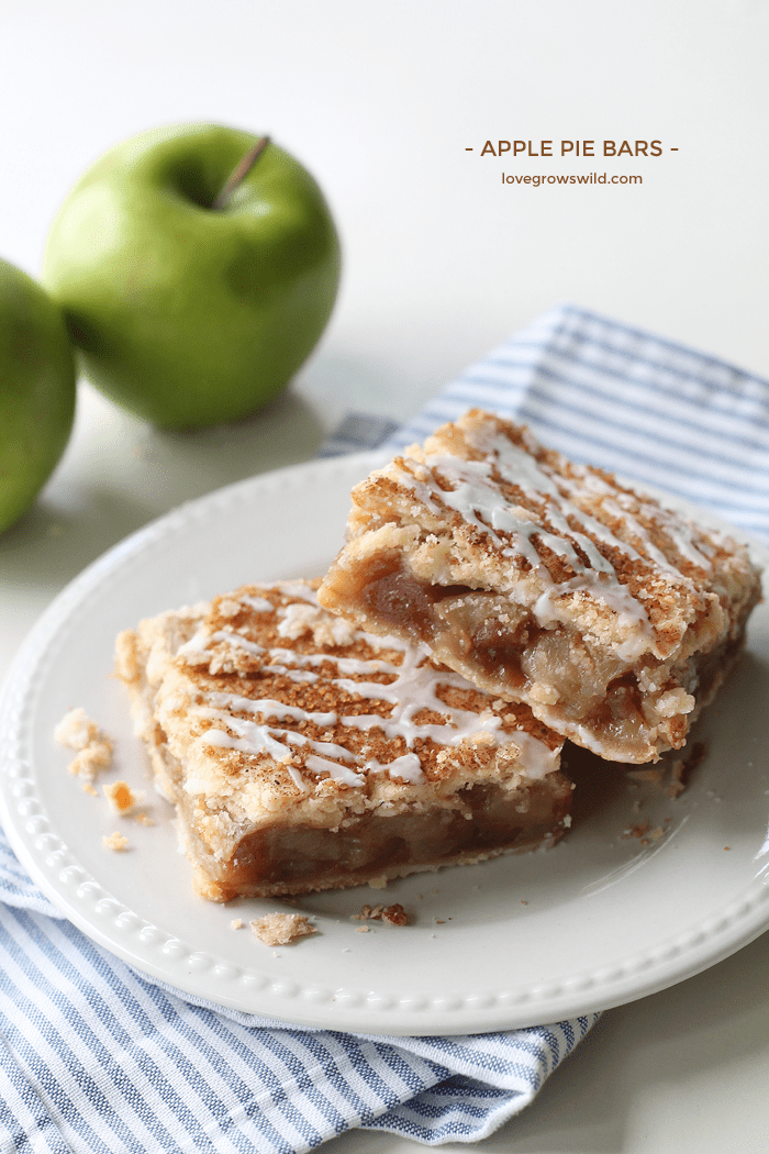 Apple Pie Bars from Love Grows Wild
