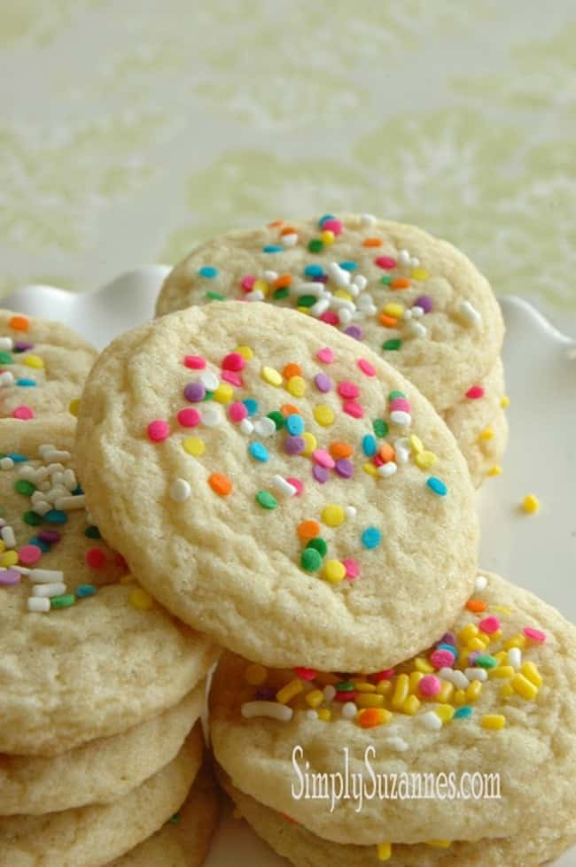 Old Fashioned Chewy Sugar Cookies from Simply Suzannes
