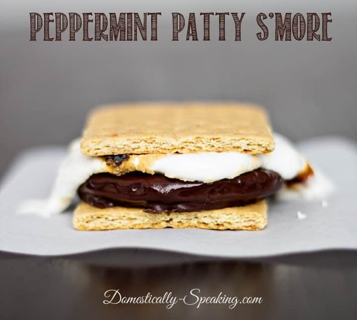 Peppermint Patty S'more