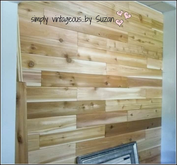 Plank Wall from Suzy Q Vintagous