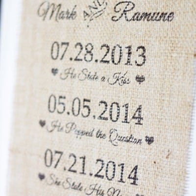 Wedding Burlap