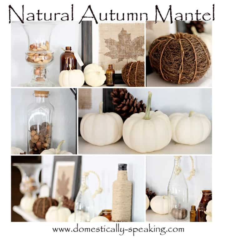 autumn mantel group