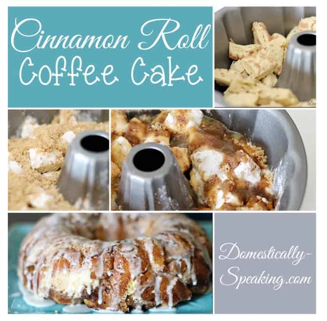 Cinnamon Roll Coffee Cake | Monkey Bread perfect for Breakfast | Easy breakfast