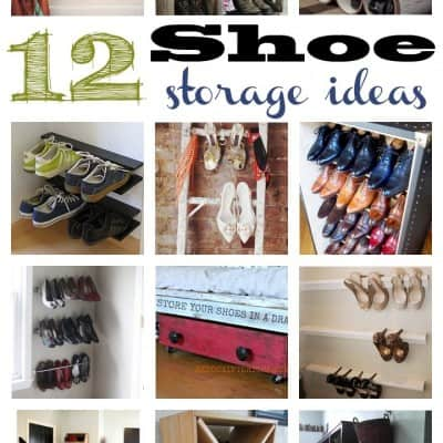 12 Shoe Organization Ideas