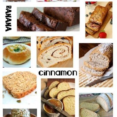 45+ Bread Recipes