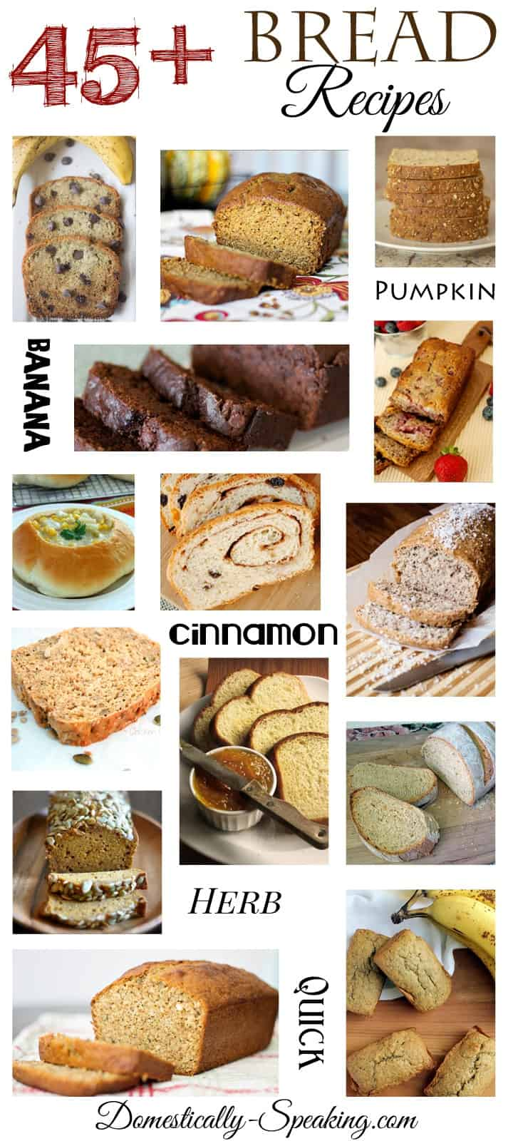 45  Bread Recipes