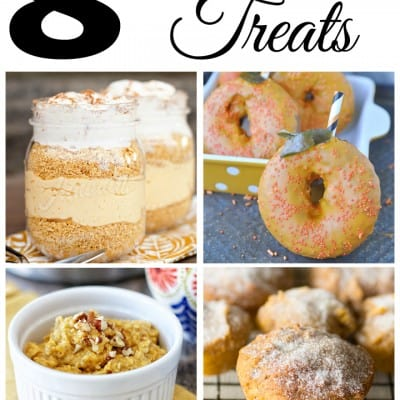 8 Pumpkin Treats… Feature Friday