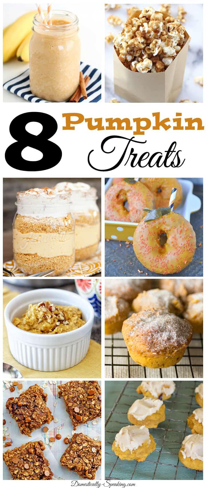 8 Pumpkin Treats… Feature Friday