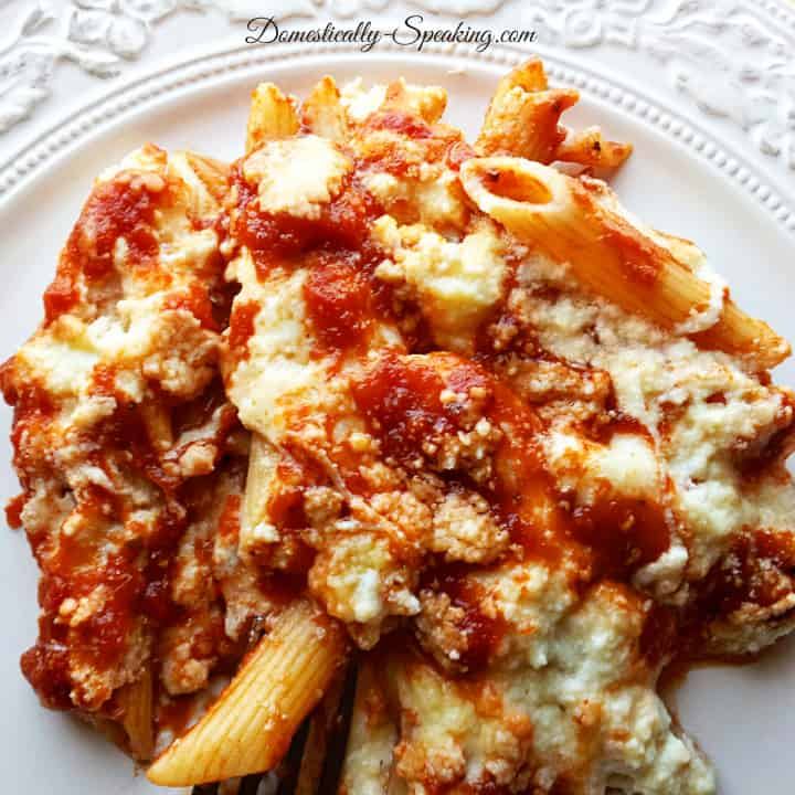 Baked Penne Rigate 6
