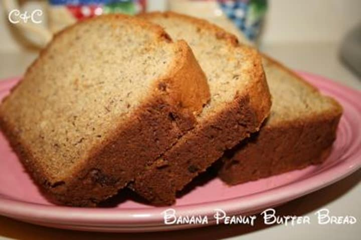 Banana Peanut Butter Bread from Cupcakes and Crinoline