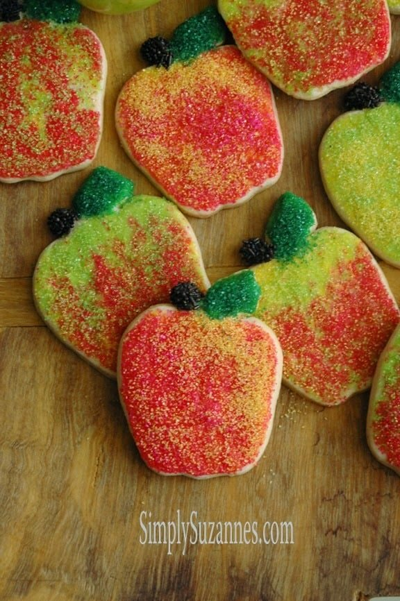 Cinnamon Sugar Apple Cookies from Simply Suzannes