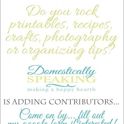 Looking for Creative Bloggers… Call for Contributors