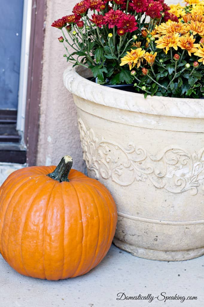 Domestically Speaking Fall Hour Tour 2014 Front Porch 1