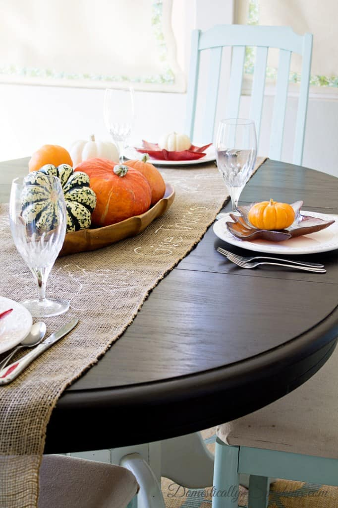 Domestically Speaking Fall Hour Tour 2014 Kitchen Nook 3