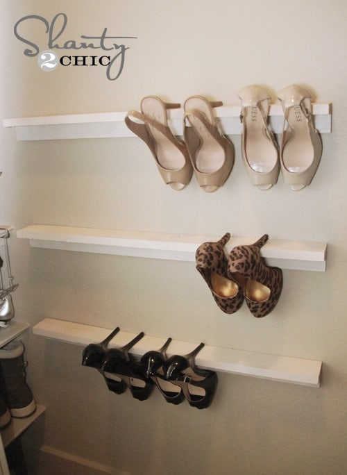 High Heel Shoe Storage from Shanty 2 Chic