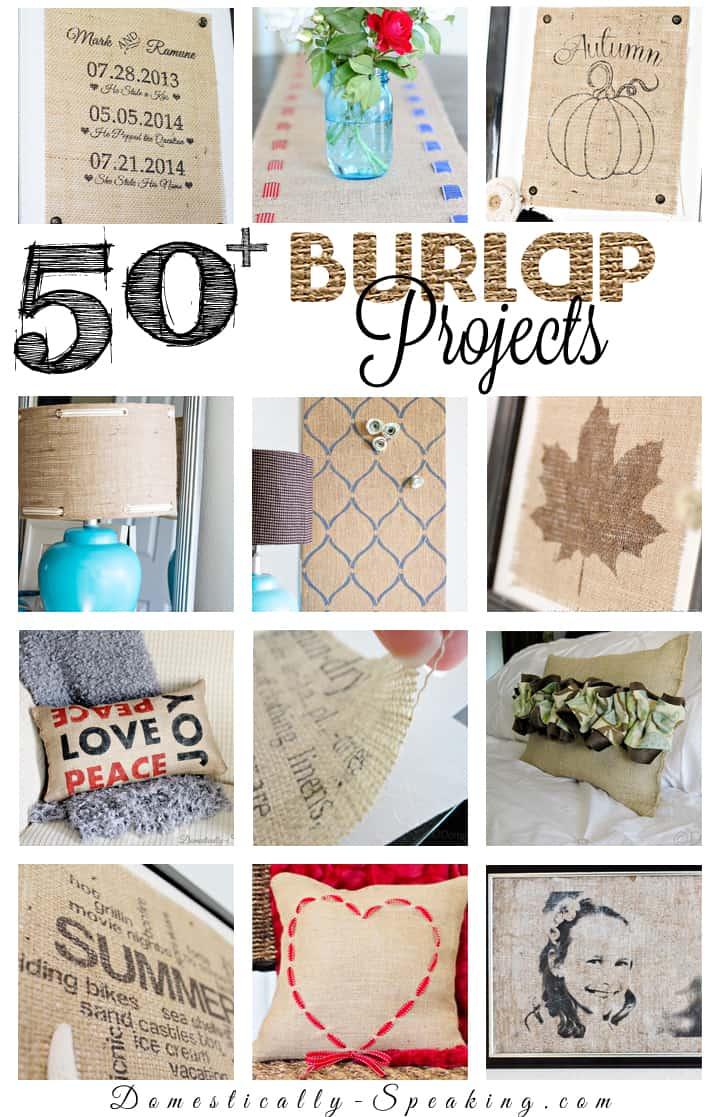 50 Burlap Projects