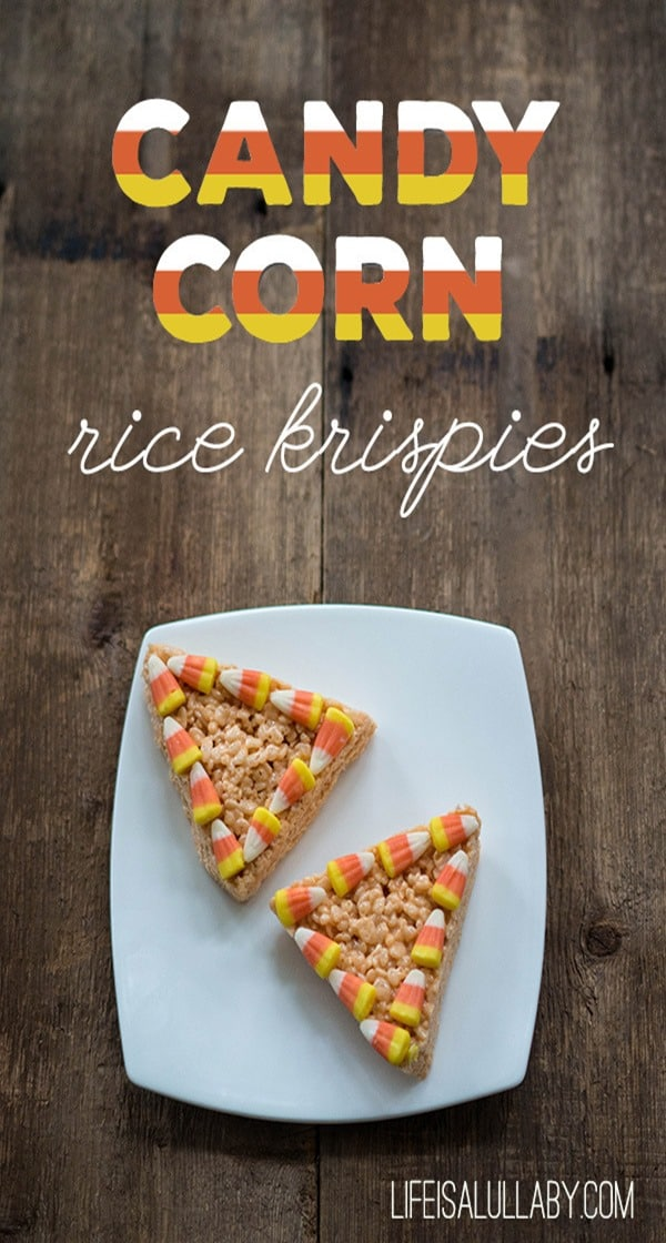 Candy-Corn-Flavored-Rice-Krispies from LIfe is Lullaby