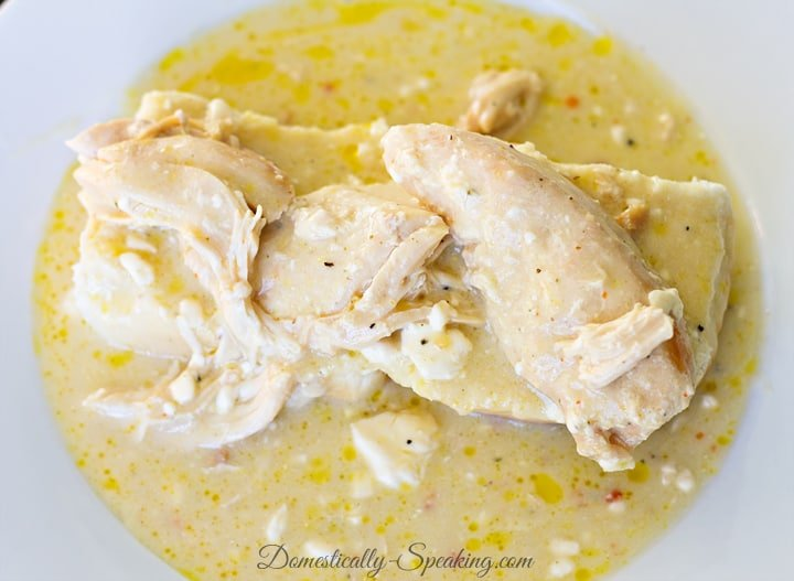 Creamy Italian Chicken in the Crockpot 1