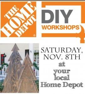 Home Depot DIY Workshop 1
