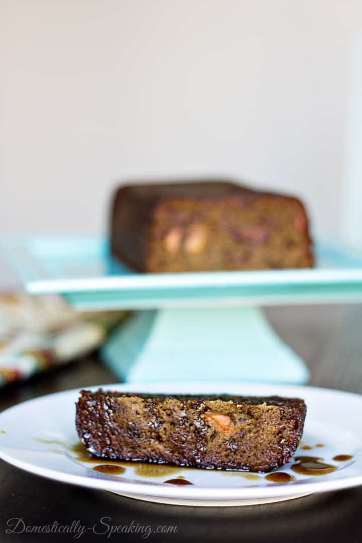 Persimmon Pudding with Sweet Cinnamon Sauce