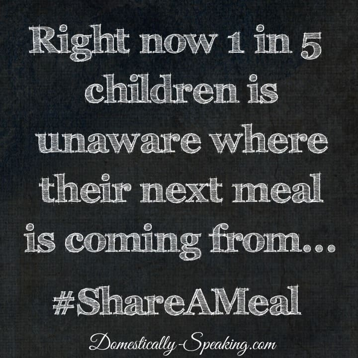 Share A Meal Chalkboard