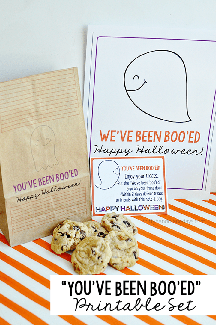 You've Been Boo'ed Printables from Thirty Handmade Days
