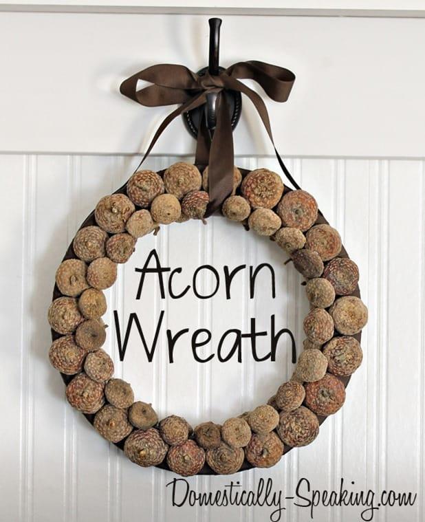 acorn wreath 2
