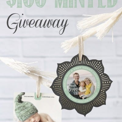 Christmas Card Giveaway with Minted