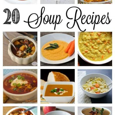 20 Soup Recipes