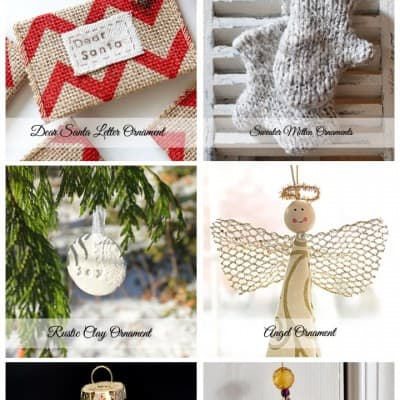 6 DIY Christmas Ornaments… Friday Features
