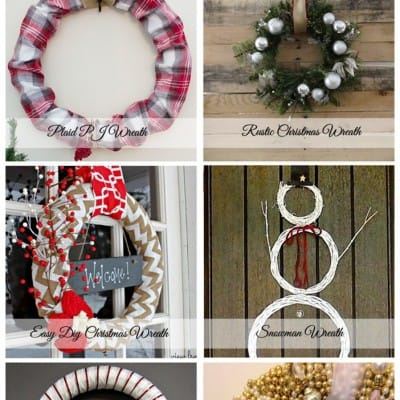 6 Christmas Wreaths… Friday Features