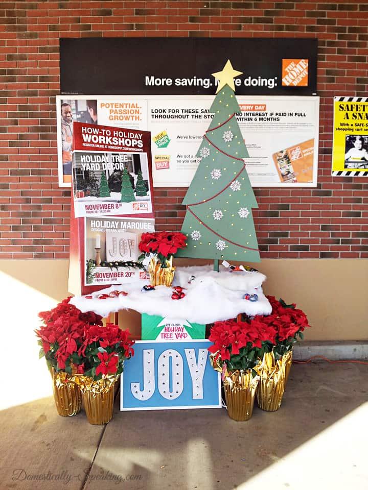 home depot diyworkshop 4 - Home Depot Holiday