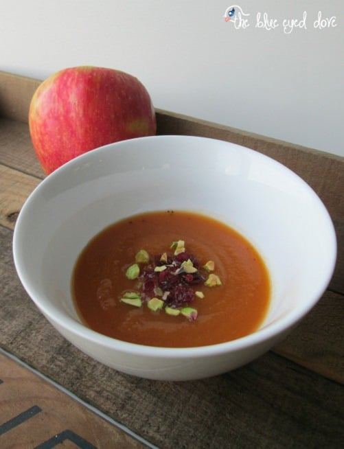 Pumpkin Apple Soup from The Blue Eyed Dove