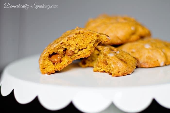 Pumpkin Caramel Cookies 2