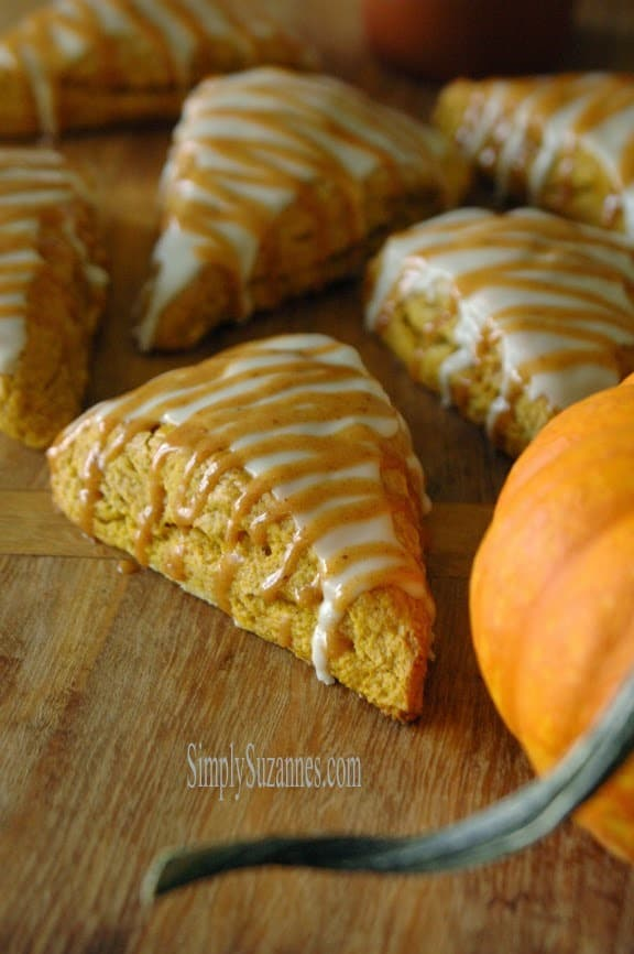 Pumpkin Scones from Simply Suzannes