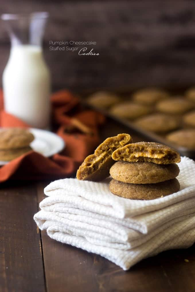 Pumpkin Sugar Cookies from Food Faith Fitness