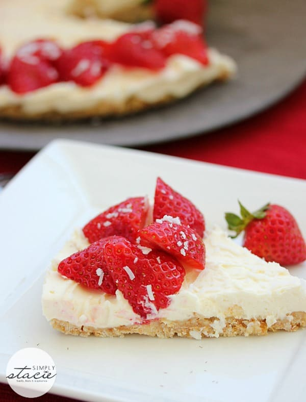 Strawberry Cheesecake from Simply Stacie