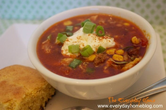 Taco Soup from Everyday Home Blog