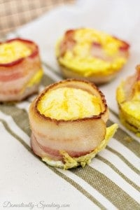 Ultimate Meat Lovers Egg Muffin