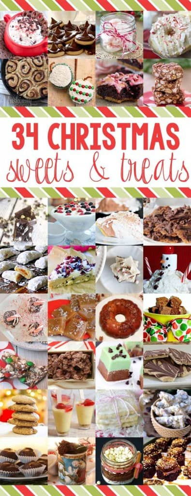 34 Christmas Sweet & Treats - great for gifts and holiday parties!