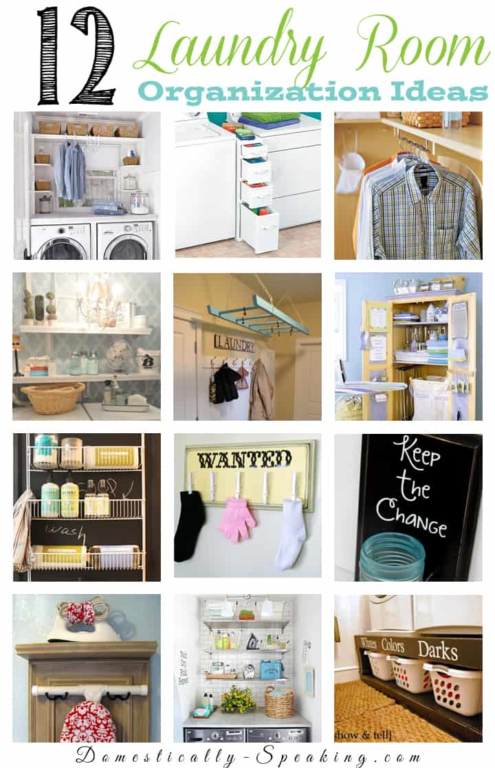 12 Laundry Room Organization Ideas