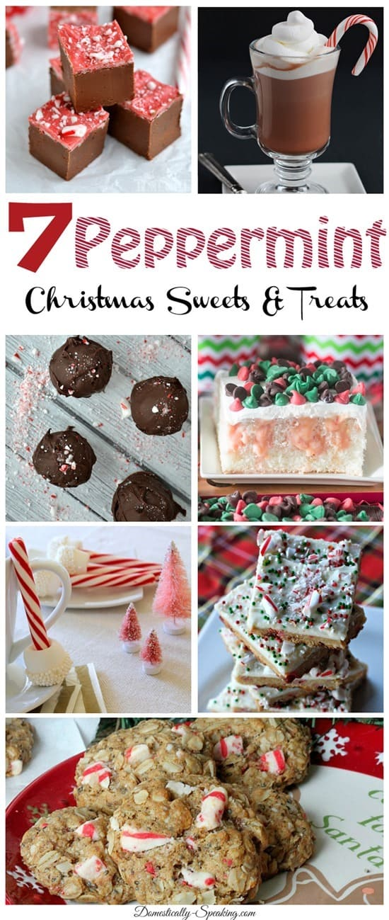 7 Peppermint Christmas Sweets and Treats